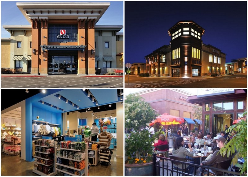 Shopping Center Photos, from Alameda Towne Centre's Facebook Page